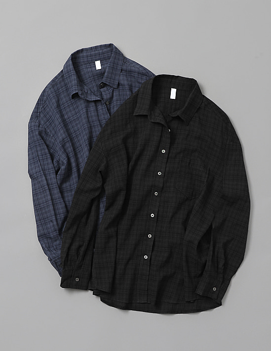 DEEP CHECK SHIRT