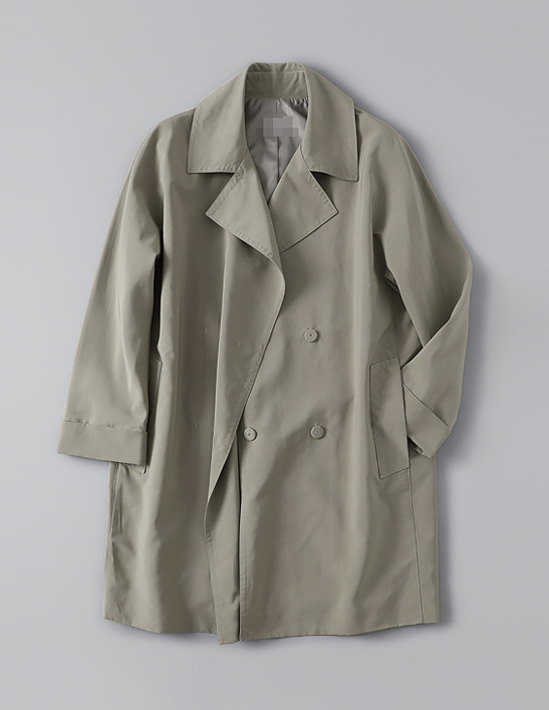 PLAIN TRENCH COAT 트렌치코트