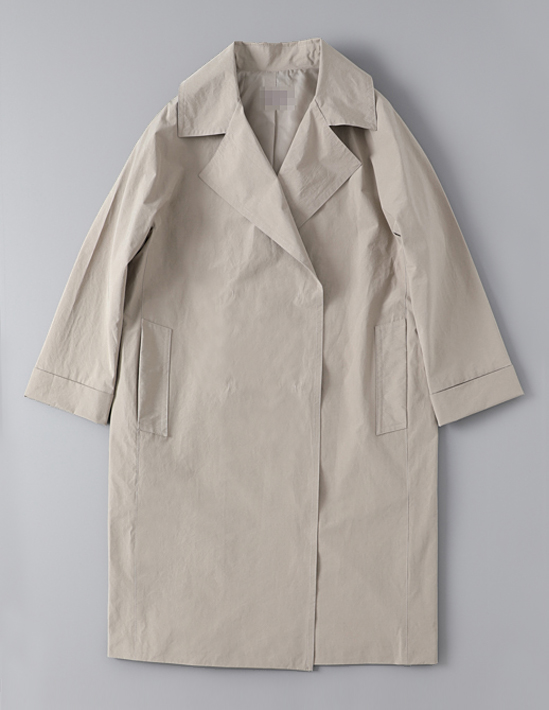 SNAP TRENCH COAT