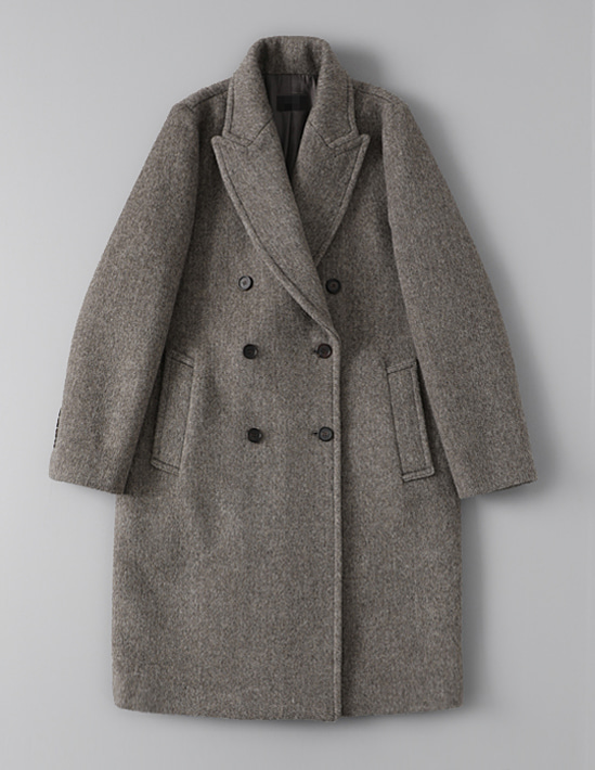 PEAKED DOUBLE COAT