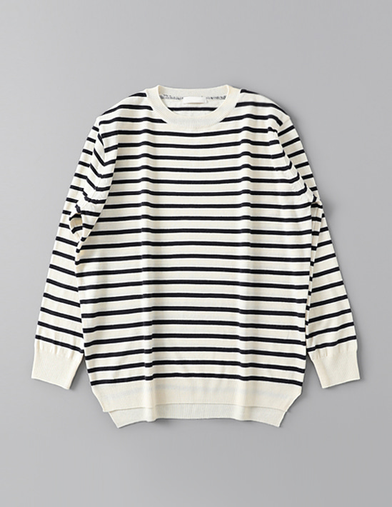 COZY STRIPE KNIT