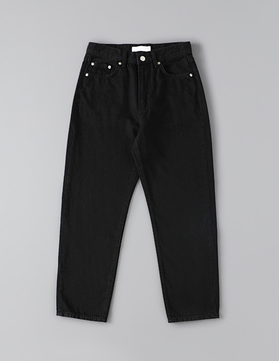 BASIC BLACK DENIM