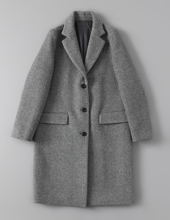 WOOL HERRINGBONE COAT 2